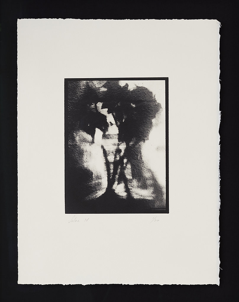 Solar IV - Solar Plate Intaglio Print on Somerset Paper  - 49.5cms x 40.0cms - Edition of 30 - £330.00 Framed